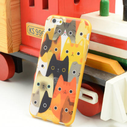 Phone case Funny cats dogs animal cute iphone5/5s/6/6s/6plus/6splus cases covers accessories smart phone cases phone skins
