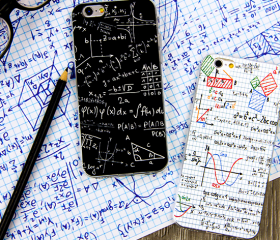 White Mathematics Study funny phone case iphone5,5s,iphone6,6s,iphone6plus,6splus cases covers accessories smart phone cases phone skins