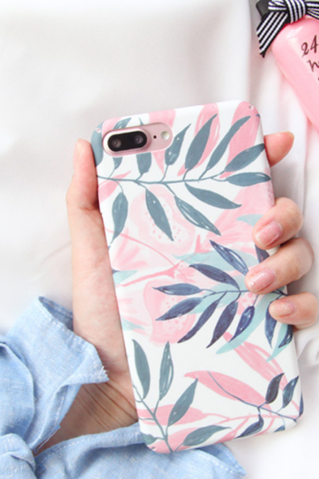 Phone case Popular Plant ins Tumblr iPhone 6,6s,6plus,6s plus,7,7plus,8,8plus, cases