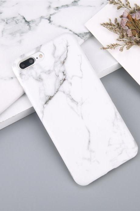 White Marble Battery Power iPhone Case iPhone 6,6s,6plus,6s plus,7,7plus,8,8plus, iPhone X cases