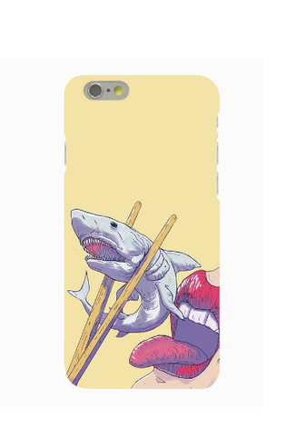 Phone cases for teens Shark cool awesome funny iphone5/5s/6/6s/6plus/6spluscases covers accessories smart phone cases phone skins