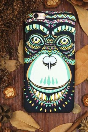 Phone cases Chimpanzee awesome for teens iphone5/5s/6/6s/6plus/6splus cases covers accessories smart phone cases phone skins