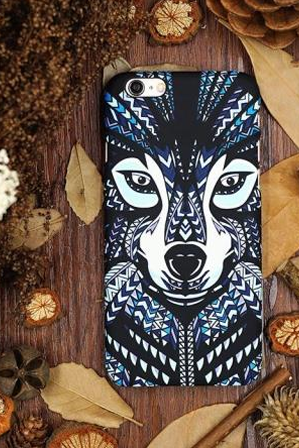 Phone cases Animal Wolf Totem awesome for teens iphone5/5s/6/6s/6plus/6splus cases covers accessories smart phone cases phone skins