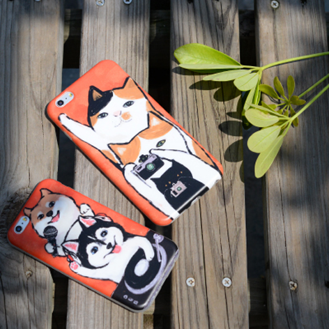 hone case Awesome puppy funny shiba inu blue eyes husky dog black cats animal cute iphone6/6s/6plus/6splus cases covers accessories smart phone cases phone skins