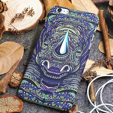 Phone cases Rhinoceros awesome Animal for teens iphone5/5s/6/6s/6plus/6splus cases covers accessories smart phone cases phone skins